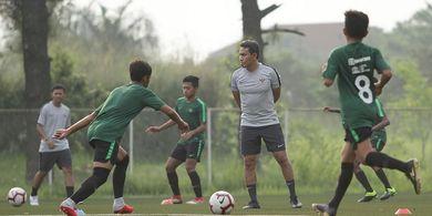Evaluasi Bima Sakti dari Laga Timnas U-16 Indonesia Melawan Tim Lokal Bekasi