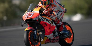 5 Fakta Kualifikasi MotoGP Prancis 2019, Marc Marquez Samai Rekor Valentino Rossi