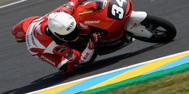 Pembalap Muda Mario Suryo Aji Dapat Pengalaman Penting di Le Mans