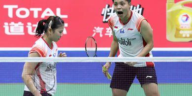 Hasil Piala Sudirman 2019 - Greysia/Apriyani Bawa Indonesia Juara Grup
