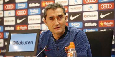 Barcelona Gagal di Liga Champions, Valverde Pamerkan 2 Trofi Juara