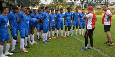 Persiapan ke Piala AFF U-18 2019, Timnas U-18 Malaysia Kalah Telak