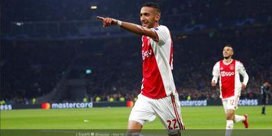 Berita Transfer - Mimpi Bela Arsenal, Hakim Ziyech Bisa Segera Pindah