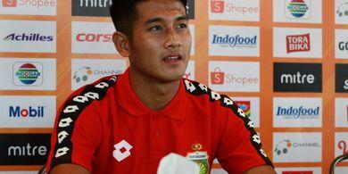 I Putu Gede Juni Antara Hiraukan Tekanan Suporter dari Bali United