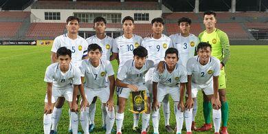 Hebat, Timnas U-18 Malaysia Berhasil Bungkam Tim Liga Super Malaysia