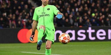 Akhiri Musim dengan Kekalahan, Buffon Didesak Segera Pensiun