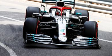 Hasil Kualifikasi F1 GP Monako 2019 - Lewis Hamilton Amankan Pole Position