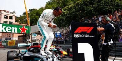 Cemerlang pada Sesi Kualifikasi, Hamilton Sebut Pole Position Terbaiknya
