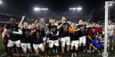 Kisah Bangkit Valencia, dari Zona Degradasi ke Liga Champions dan Juara Copa del Rey