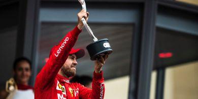 Belum Raih Kemenangan Musim Ini, Sebastian Vettel Tak Frustrasi