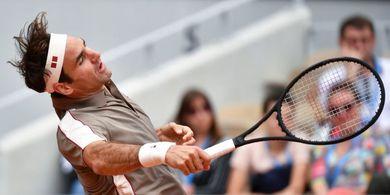 Bicara Kotor Saat Bertanding, Roger Federer Didenda Rp 40 Juta