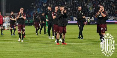 Hasil Liga Italia - Meski Menang, Milan Batal Lolos ke Liga Champions