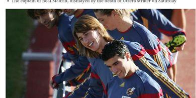 Mengharukan, Chat Terakhir Almarhum Eks Bintang Real Madrid