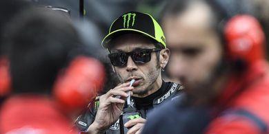 Fokus Raih Podium, Valentino Rossi Ogah Larut dalam Romansa Masa Lalu