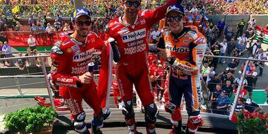 MotoGP Jadi Anak Tiri,  2 Sirkuit Lebih Pilih Gelar F1 Musim Ini
