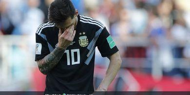 Babak Pertama Jadi Bukti Betapa Buruknya Argentina saat Lawan Kolombia