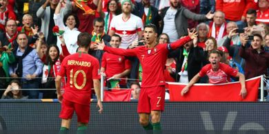ON THIS DAY - Hat-trick Ketujuh Cristiano Ronaldo Bareng Timnas Portugal