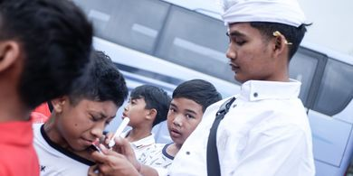 Bali United Kunjungi Pura Besakih dan Batur, Ini Respons Kadek Agung