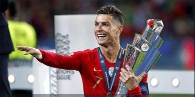 Di Atas 3 Kandidat, Cristiano Ronaldo Kembali Jadi Unggulan 1 Raih Ballon d'Or