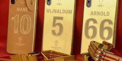 Juara UCL 2019, Pemain Liverpool Dapat Iphone Berlapis Emas 24 Karat