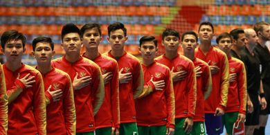 Link Streaming Timnas Futsal U-20 Indonesia Vs Vietnam di Perempat Final