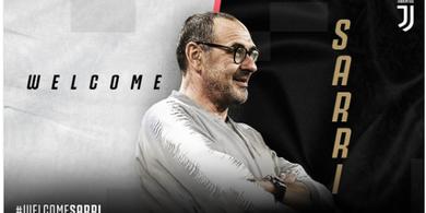 BREAKING NEWS - Maurizio Sarri Resmi Jadi Pelatih Juventus