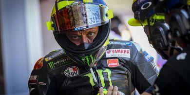 Apes! ini Video Rossi, Lorenzo, Dovizioso, dan Vinales Jatuh Bersama di GP Catalunya