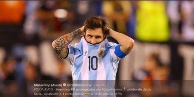 Jadi Kesempatan Besar, Lionel Messi Dongkol Copa America 2020 Molor