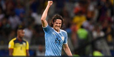 Akhirnya Kutukan Edinson Cavani di Copa America Berakhir