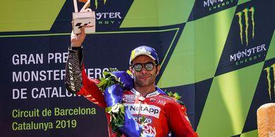 Danilo Petrucci Bantah Ducati Pakai Team Order demi Kejar Marc Marquez
