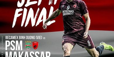 Live Streaming Becamex Binh Duong Vs PSM Makassar di Piala AFC 2019