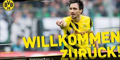 Borussia Dortmund Bayar Rp611 Miliar untuk Pulangkan Mats Hummels
