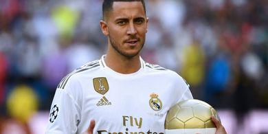 Tak Pakai Warisan Cristiano Ronaldo, Ada Alasan Hazard Pakai Nomor 50