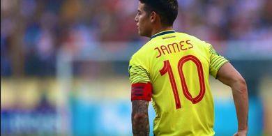 James Rodriguez - Calon Pelengkap Lini Serang Super Atletico Madrid
