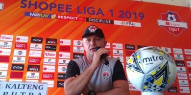 Kalteng Putra Bertekad Hentikan Rentetan Kemenangan Bali United