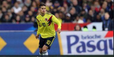 Iri pada Bayern Muenchen, Presiden Napoli Merengek Pinjam James Rodriguez