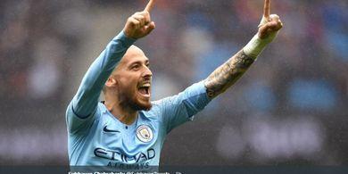 Hengkang dari Man City, David Silva Pindah ke Klub Milik David Beckham