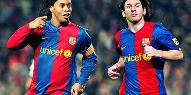 Lionel Messi Buka Suara soal Kabar Bebaskan Ronaldinho dari Penjara dengan Jaminan Rp 56 Miliar