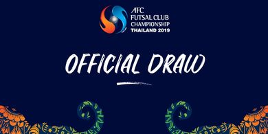 Pembagian Grup AFC Futsal Club Championship 2019, Ini Lawan Vamos FC