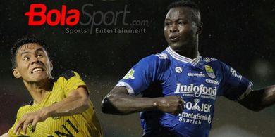 3 Statistik Menonjol Ezechiel Ndouassel Selama di Persib Bandung