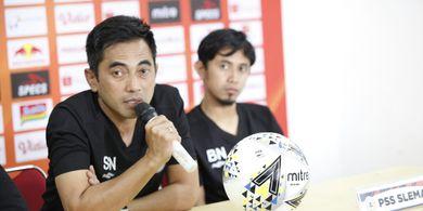 Komentar Pelatih PSS Sleman Usai Kekalahan dari Markas Bali United