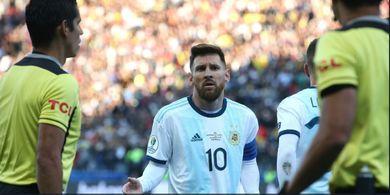 Komentar Pedas Lionel Messi Soal Wasit Berujung Hukuman dari CONMEBOL