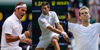 7 Petenis yang Dijagokan Rafael Nadal Ganggu Dominasi The Big Three