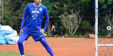 Pelatih Persib Tetapkan Posisi Esteban Vizcarra Versus Kalteng Putra