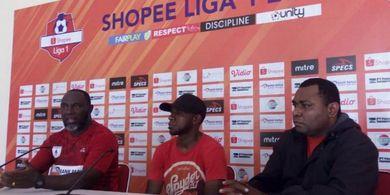 Imbang Lawan PSS, Jacksen F Tiago Sebut Pemain Persipura Kelelahan