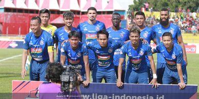 Arema FC Boyong 18 Pemain untuk Bertandang ke Markas PSM Makassar