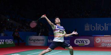 Indonesia Open 2019 - Tersingkir, Anthony Ginting Akui Kehebatan Lawan