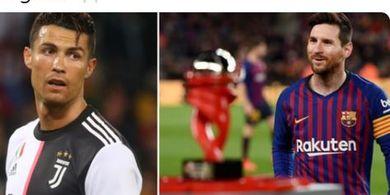 Cristiano Ronaldo dan Lionel Messi Kalah Efektif Dibanding Benzema