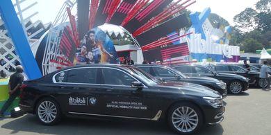 Indonesia Open 2019 - Beri Kesan Mewah, BMW Jadi Kendaraan Resmi