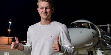 Matthijs de Ligt Ungkap Alasan Lebih Pilih Juventus daripada Barcelona